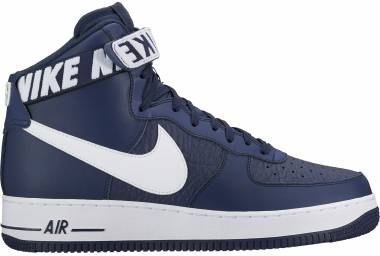 new concept 09286 85619 Nike Air Force 1 High 07 NBA BLUE Men