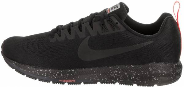 Nike Air Zoom Structure 21 Shield - Black Black Black Obsidian