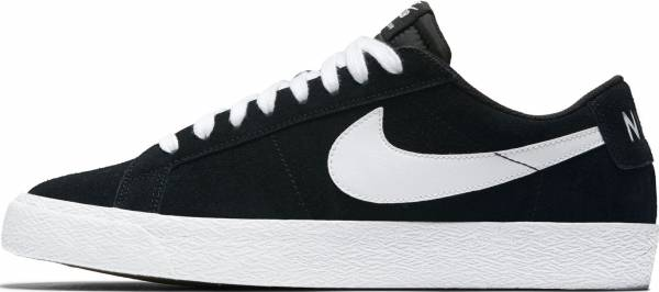 more photos 83f78 72100 Nike SB Blazer Zoom Low Black