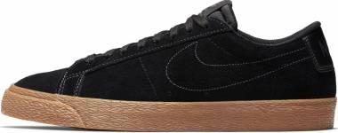 Nike SB Blazer Zoom Low - Black/Anthracite-gum (864347002)