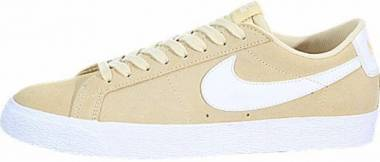 Nike SB Blazer Zoom Low - Yellow (864347700)