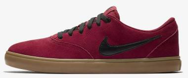 Nike SB Check Solarsoft - Red Red Crush Black Gum Light 601 (843895601)