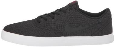Nike SB Check Solarsoft Canvas - Black/Team Red (843896007)