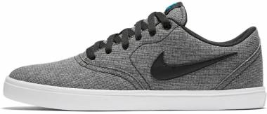 Nike SB Check Solarsoft Canvas - Black / Black - White - Photo Blue (843896004)