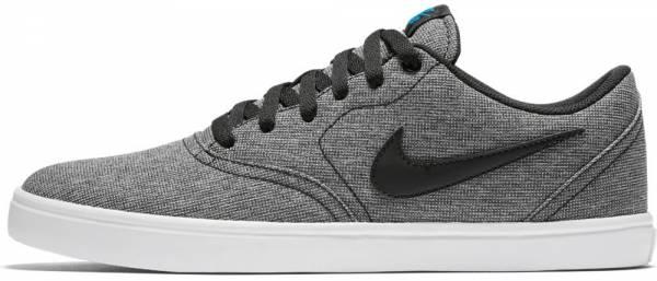Nike SB Check Solarsoft Canvas - Black / Black - White - Photo Blue (843896004)
