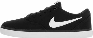 Nike SB Check Solarsoft Canvas - Black/White (843896001)