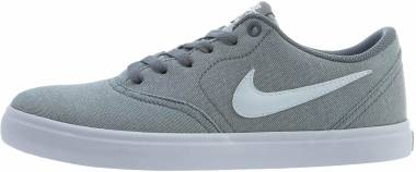 Nike SB Check Solarsoft Canvas - Cool Grey/White-black