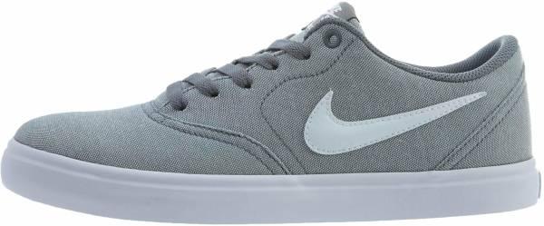 Nike SB Check Solarsoft Canvas - Grau Cool Grey White Black 003 (843896003)