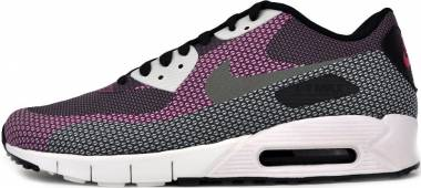 1ef4a716c4d0 Nike Air Max 90 Jacquard Black Md Bs Grey-anthracite-bright Magenta Men