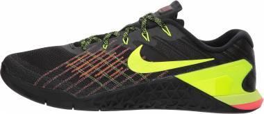 Nike Metcon 3 - Black / Volt - Hyper Crimson (852928012)