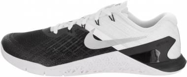 Nike Metcon 3 - Black/White/Metallic Silver