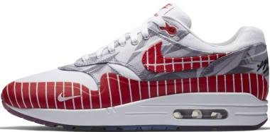 Nike Air Max 1 LHM - Blanc Rouge Université