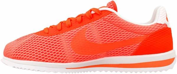 best sneakers be512 72aee cheap white and orange nike cortez mesh