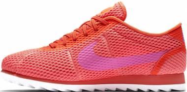 Nike Cortez Ultra Breathe - Naranja Total Crimson Pink Blast White (833801800)
