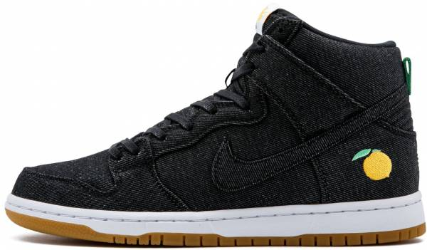 the latest d04d6 47de3 Nike SB Dunk High Pro Momofuku Black, Black-white-laser Orange