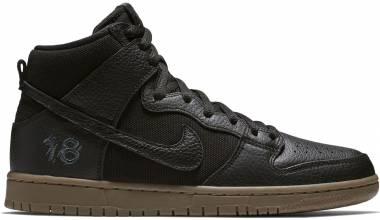 Nike SB Dunk High Pro QS Multicolore (Black/Black-anthraci 001) Men
