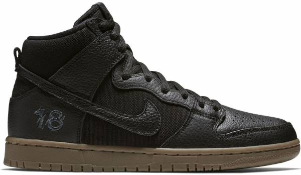 Nike SB Dunk High Pro QS - Black (AH9613001)