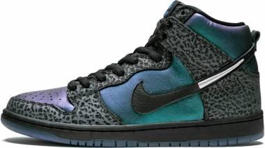 Nike SB Dunk High Pro QS - black, black-dark grey (BQ6827001)