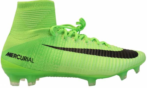 Nike Mercurial Superfly V Firm Ground Green