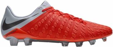 Nike Hypervenom Phantom III Elite Firm Ground Red Men