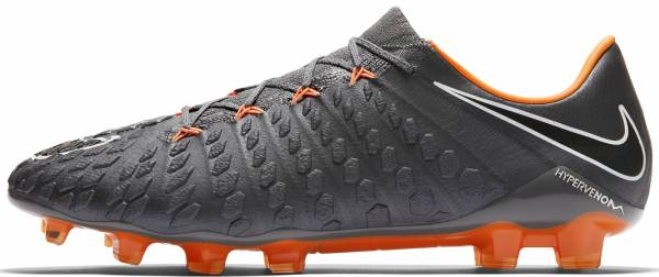 Nike Hypervenom Phantom III Elite Firm Ground Dark Grey