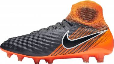 Nike Magista Obra II DF Elite Firm Ground - Grau Grau Grau