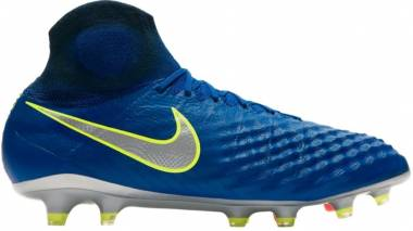 Nike Magista Obra II DF Elite Firm Ground - Blau Silber (844595409)
