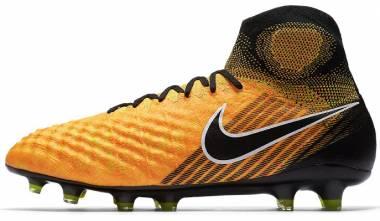 Nike Magista Obra II DF Elite Firm Ground - Black/Laser Orange (844595801)