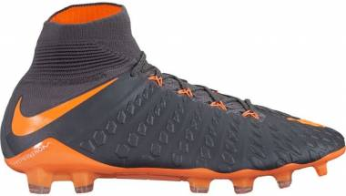 Nike Hypervenom Phantom III Elite DF Firm Ground Grey Men