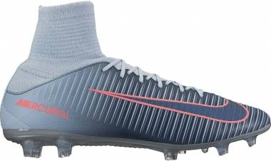 Nike Mercurial Veloce III Dynamic Fit Firm Ground - Light Armory Blue/Armory Navy