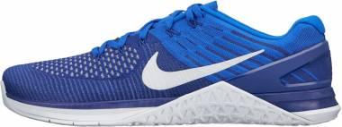 Nike Metcon DSX Flyknit Deep Royal Blue/White Men