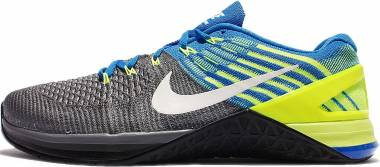 Nike Metcon DSX Flyknit Deep Royal/dark Gray/Volt Yellow/white Men