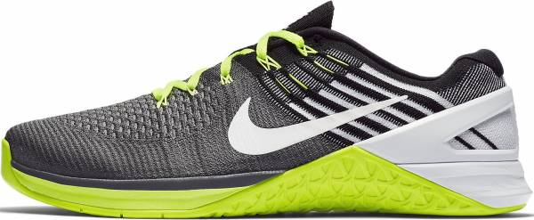 brand new b3e44 8d9aa nike-metcon-dsx-flyknit-852930-001-black-white-dark-grey-volt-mens-training -shoes-10-d-m-us-mens-black-white-dark-grey-volt-555e-600.jpg
