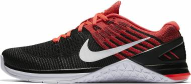 Nike Metcon DSX Flyknit - Black/White-Bright Crimson (852930009)