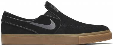 best website 8c176 1403a Nike SB Zoom Stefan Janoski Slip-On Black Men