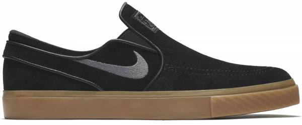 enfermo Bendecir Publicación  Nike SB Zoom Stefan Janoski Slip-On sneakers in black | RunRepeat