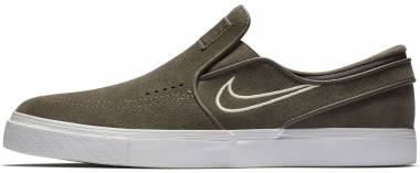 Nike SB Zoom Stefan Janoski Slip-On - Grey