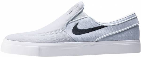 san francisco f76ae a15cd Nike SB Zoom Stefan Janoski Slip-On Grey Black