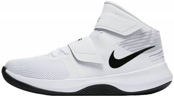 huge discount c7a3b e94d7 Nike Air Precision FlyEase White Pure Platinum Black