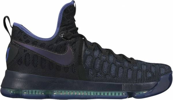online retailer 3cd72 fd9e6 Nike KD 9 Obsidian, Dk Purple-dust-black