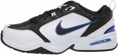 Nike Air Monarch IV - Black/Black-white-racer Blue (415445002)