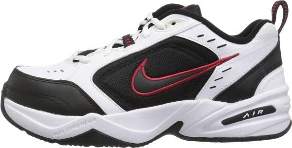 Nike Air Monarch IV - White Black Varsity Red (415445101)