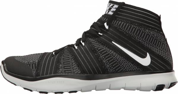 Nike Free Train Virtue - Black White Dark Grey
