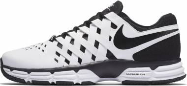 Nike Lunar Fingertrap TR White/Black Men
