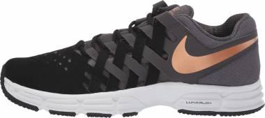 Nike Lunar Fingertrap TR - thunder grey/metallic copper-black