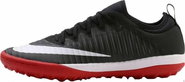 Nike MercurialX Finale II Turf - Noir Black White Univ Red Dk Grey (831975002)