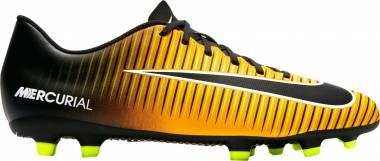 Nike Mercurial Vortex III Firm Ground - Orange (Laser Orange/Black/White/Volt/White)