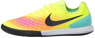 Nike MagistaX Finale II Indoor - Yellow (Volt / Black-total Orange-pink Blast)