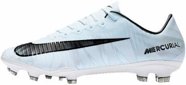 Nike Mercurial Vapor XI CR7 Firm Ground - Wolf Grey/Volt/Gym Blue/Wolf Grey (852514401)