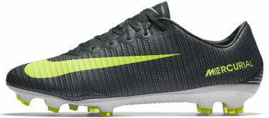 7e96eda9534e Nike Mercurial Vapor XI CR7 Firm Ground Seaweed Volt Hasta White Men